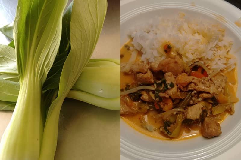 Hühner–Gemüse–Wok