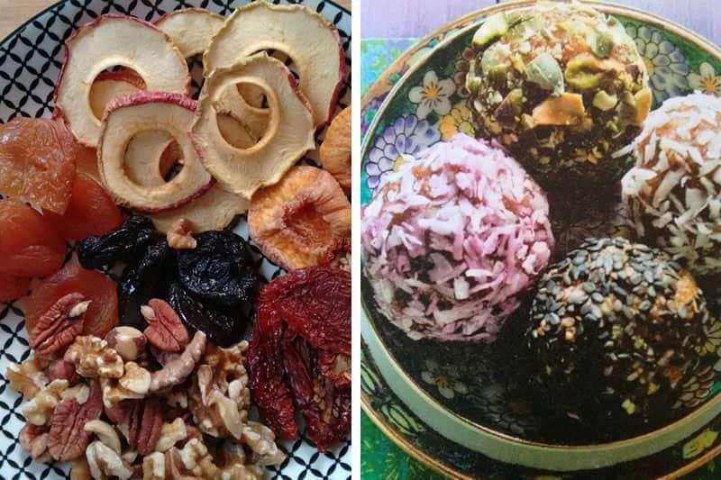 Süßes Paradies - Powerbällchen aus Obst und Nüssen
