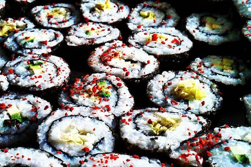 Gemüse – Sushi