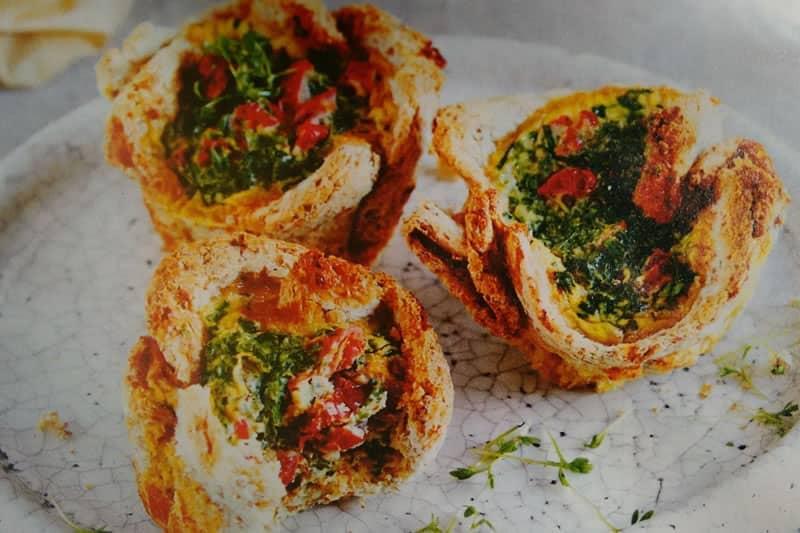 Ziegenkäse-Muffin